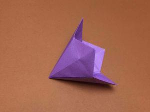 折り紙で折ったベルフラワー