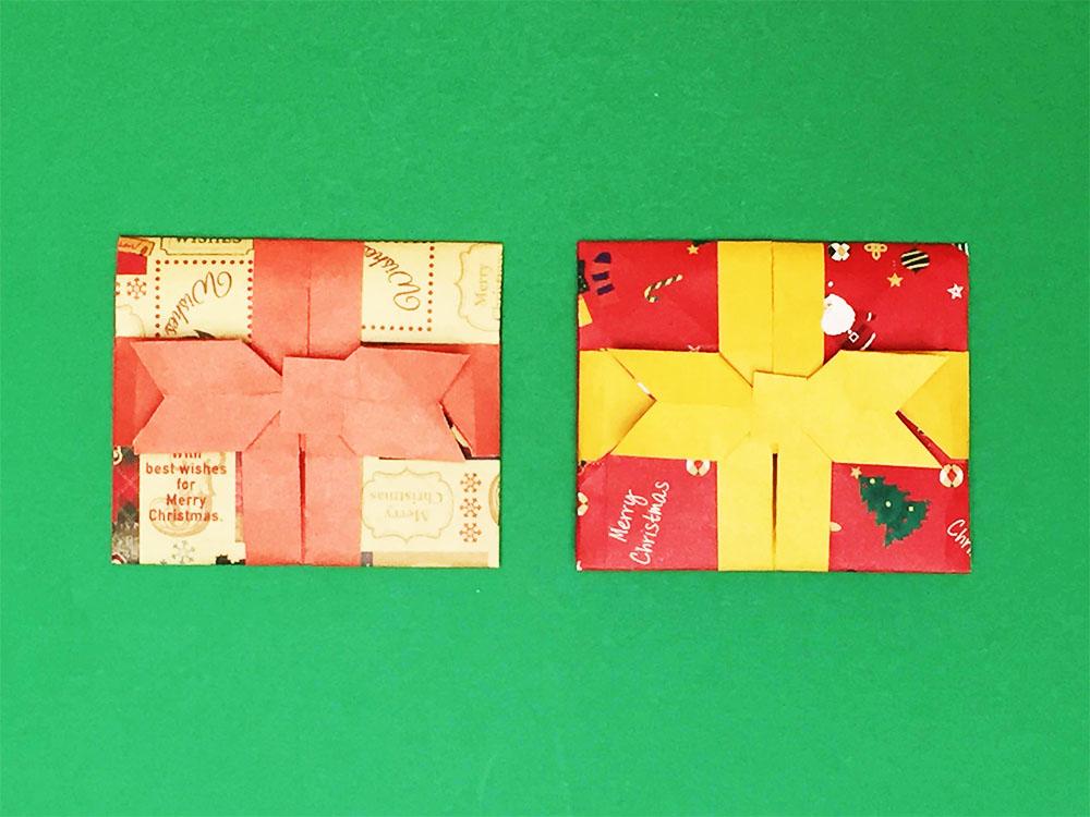 折り紙で折ったポチ袋