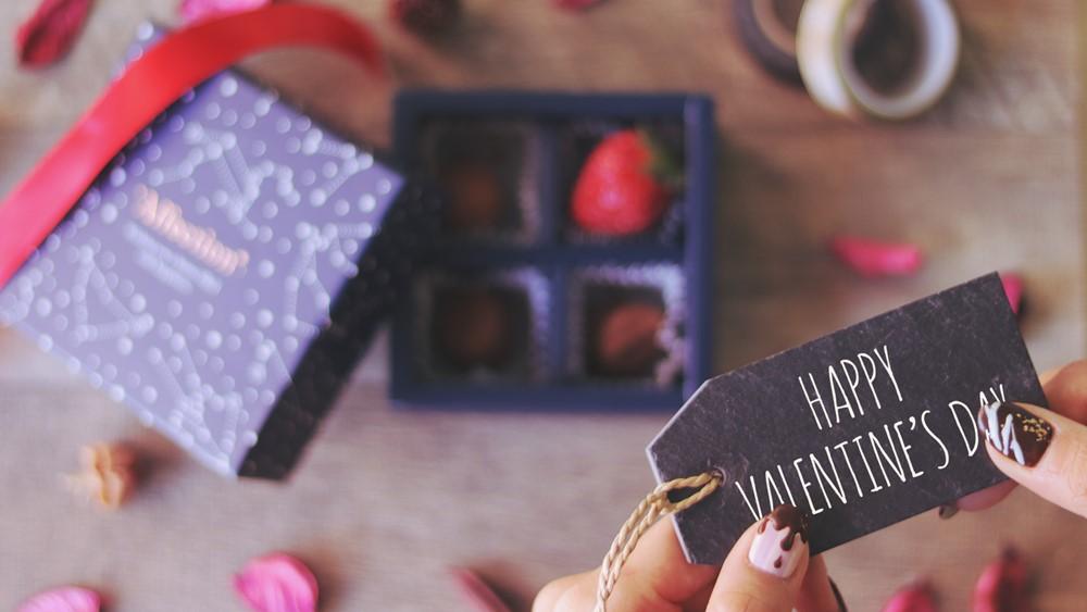バレンタインの折り紙
