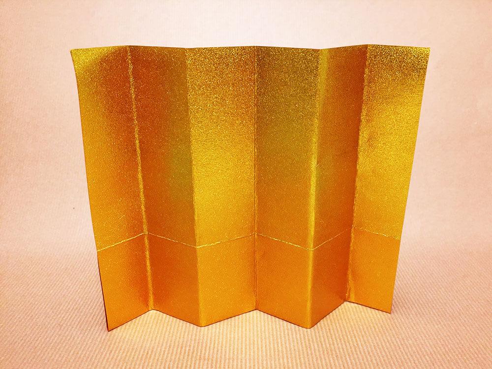 折り紙で折った屏風