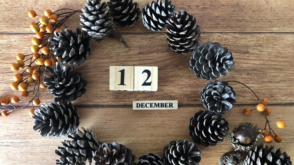 12月の折り紙