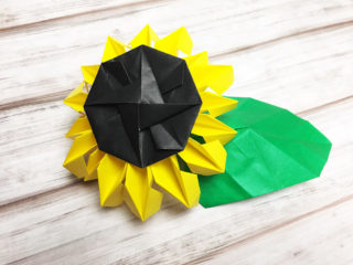 Origami Sunflower Version 1