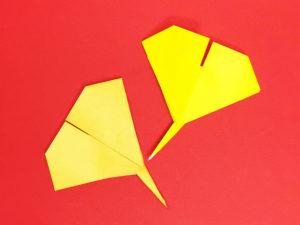 折り紙で折ったイチョウ