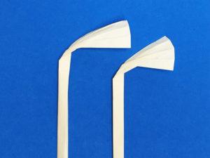 折り紙で折ったススキ