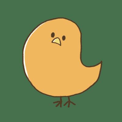鳥の折り紙