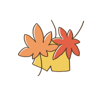 秋の折り紙