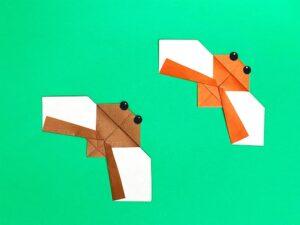 折り紙で作ったセミ