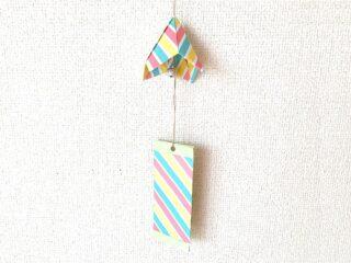 折り紙で折った風鈴
